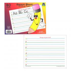 Smart Start? K?1 Writing Paper: 40 sheet tablet