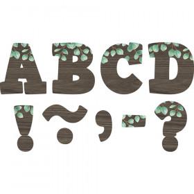 "Eucalyptus Bold Block 3"" Magnetic Letters"