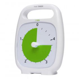 PLUS 5 Minute Timer, White