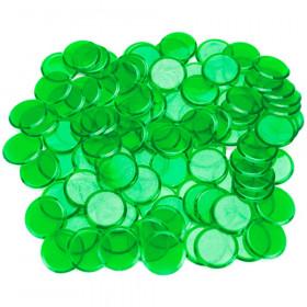 100 Pack Green Bingo Marker Chips