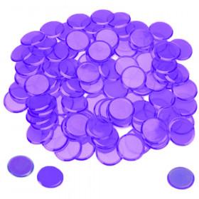 100 Pack Purple Bingo Marker Chips