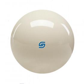 "Aramith Premium 2 1/4"" Cast Phenolic Cue Ball with Blue Logo"