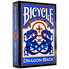 Bicycle Blue Dragon Back Standard Index Playing Cards