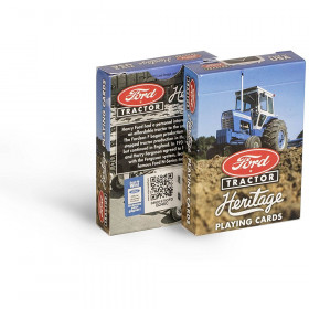 Bicycle Ford Tractor Playing Cards