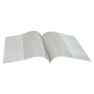 """Smart Poly Clear Book Cover, 6 x 8"""" - ASH10570 
