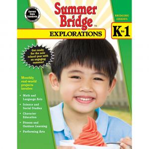 CD-704649 - Summer Bridge Explorations Gr K-1 in Cross-curriculum Resources