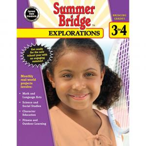 CD-704652 - Summer Bridge Explorations Gr 3-4 in Cross-curriculum Resources