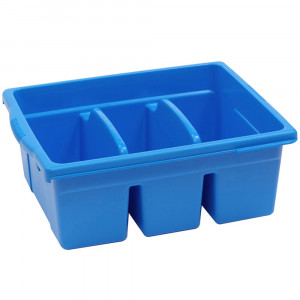 CEPCC4069B - Leveled Reading Blue Large Divided Book Tub in Book Displays