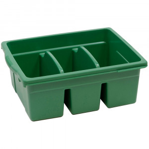CEPCC4069G - Leveled Reading Green Large Divided Book Tub in Book Displays