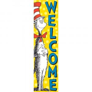 EU-849664 - Vertical Banner Cat In The Hat Welcome in Banners