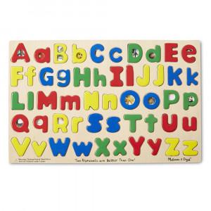 LCI47 - Puzzle Upper & Lowercase Alphabet in Alphabet Puzzles