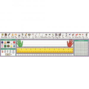 NST9003 - Desk Plate Primary Traditional Manuscript in Name Plates