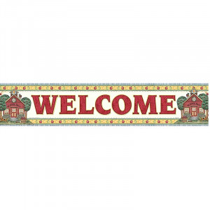 TCR4517 - Dm School Days Welcome Banner in Banners