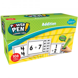 TCR6456 - Math Cards Addition in Addition & Subtraction