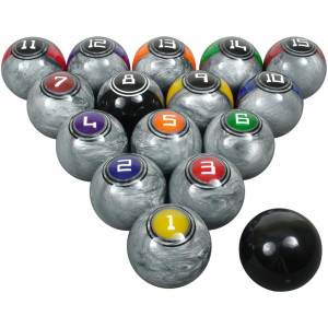 Galaxy Series Billiard Ball Set by McDermott