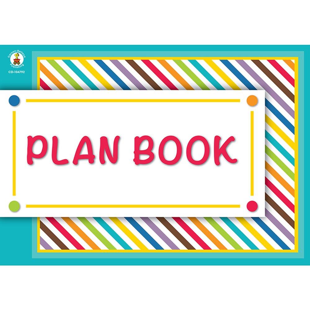 Color me bright plan book cd 104792 carson dellosa for Plan books