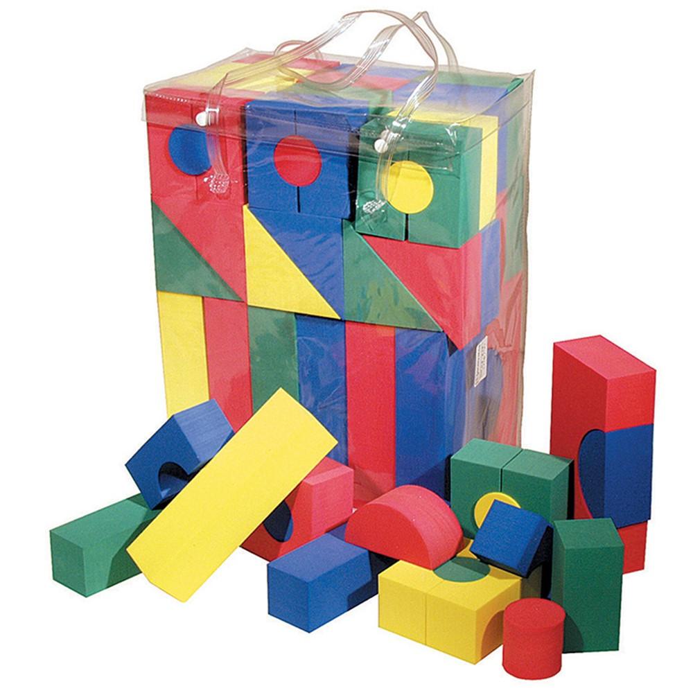 Wonderfoam blocks 68 pk ck 4380 pacon corporation for Foam blocks building construction