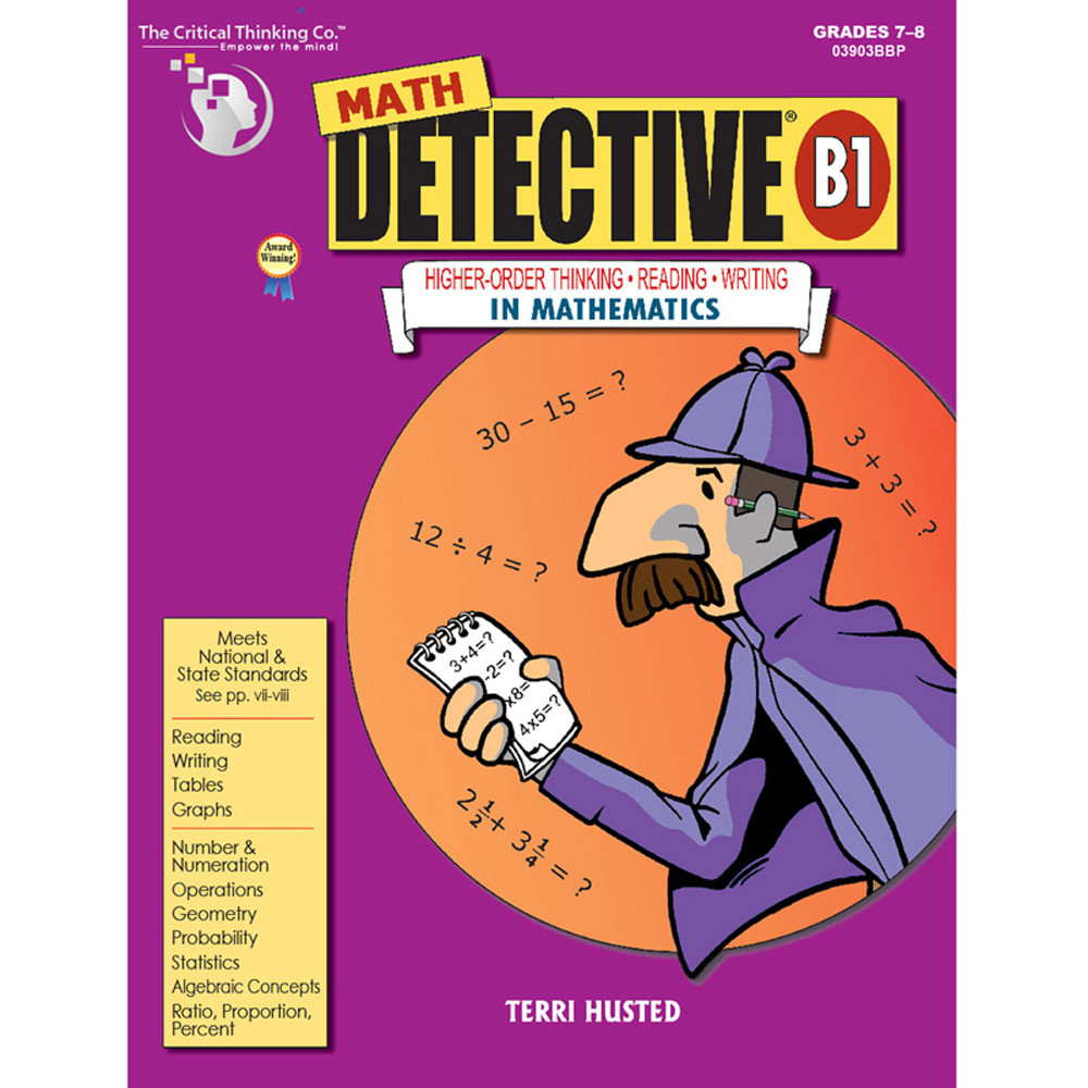 critical thinking company science detective A1 (free) download science detective® a1 (free) and enjoy it on your  iphone, ipad, and ipod touch  teaches standards-based science as it  develops reading and critical thinking skills science  seller: the critical  thinking company.