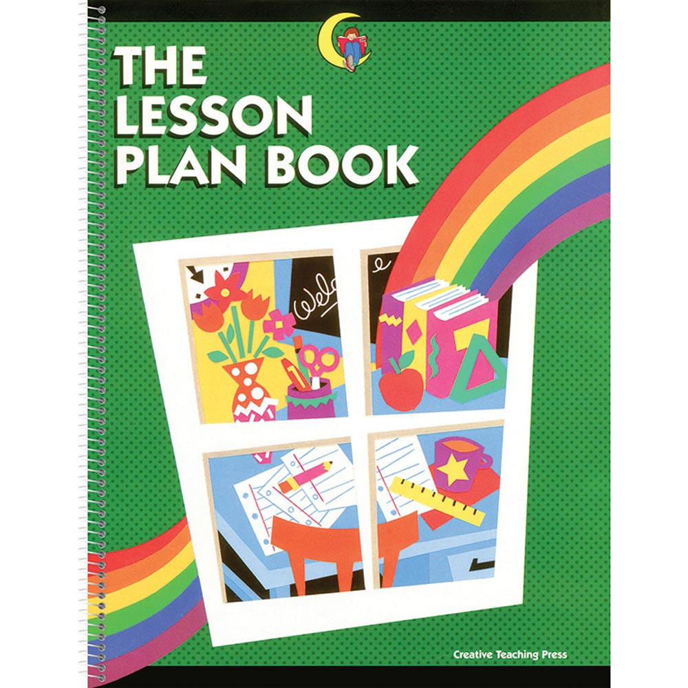 Plan book the rainbow lesson 8 1 2 x 11 ctp1201 for Plan books