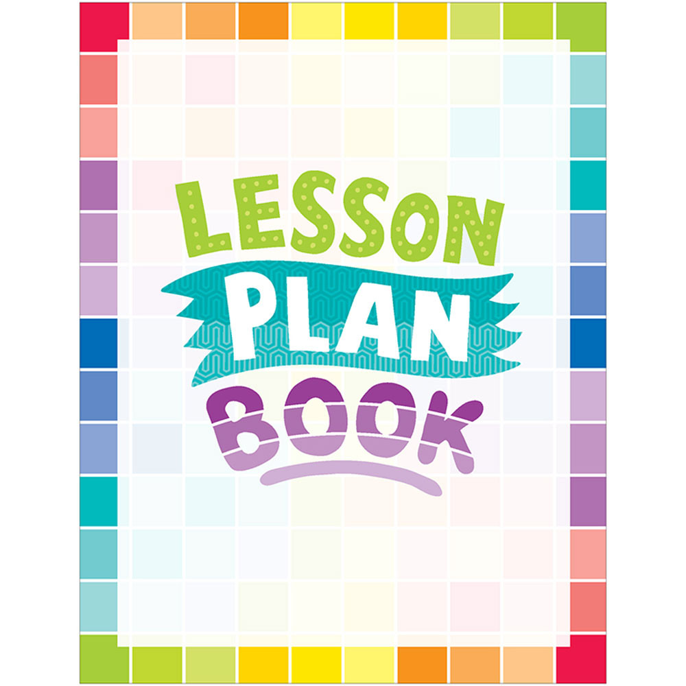 Painted palette lesson plan book ctp1403 creative for Plan books