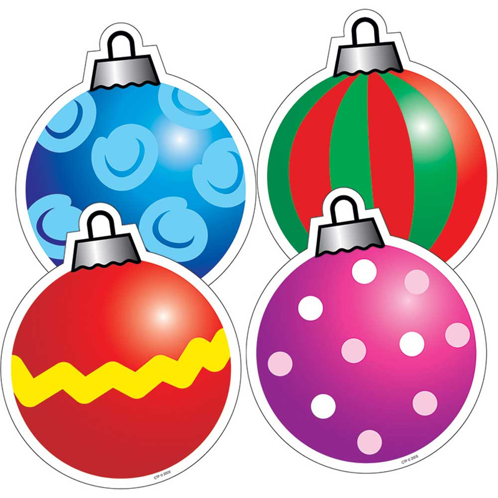 Holiday Ornaments Cut Outs - CTP4686