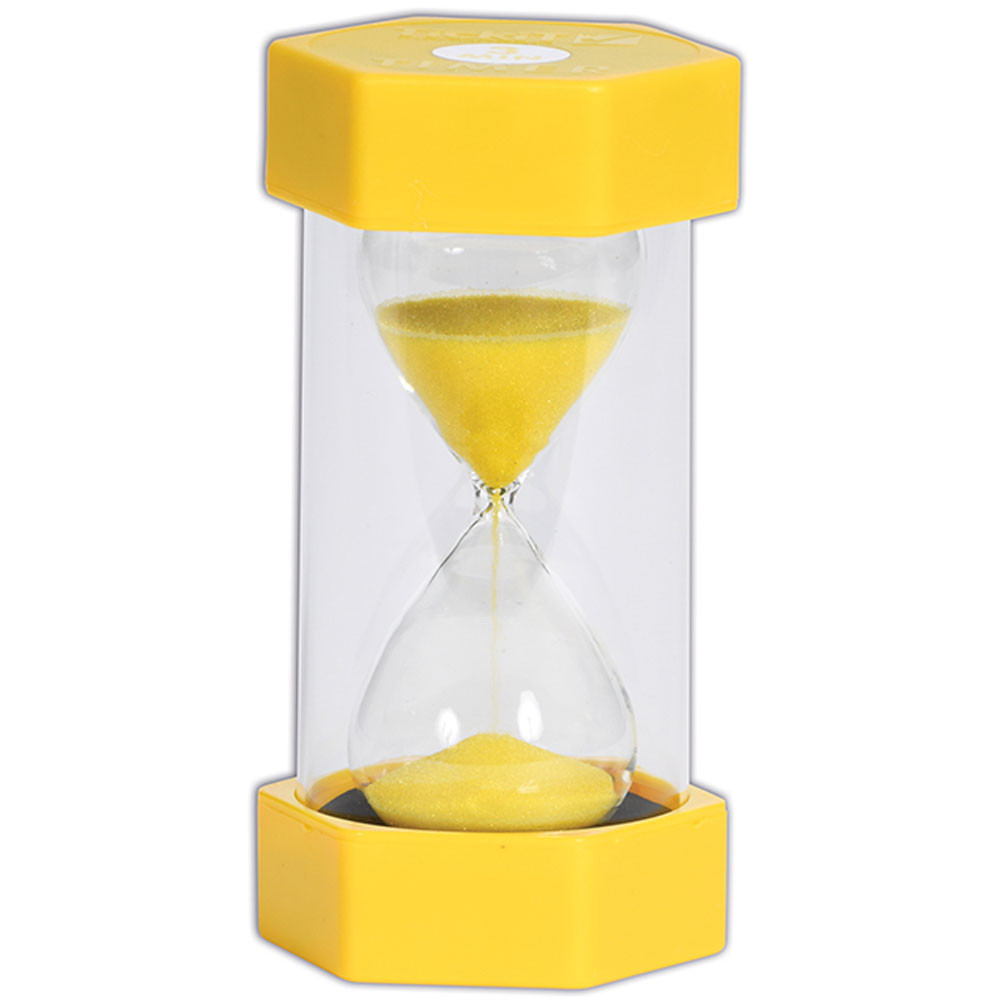 sand timer 3 minutes yellow