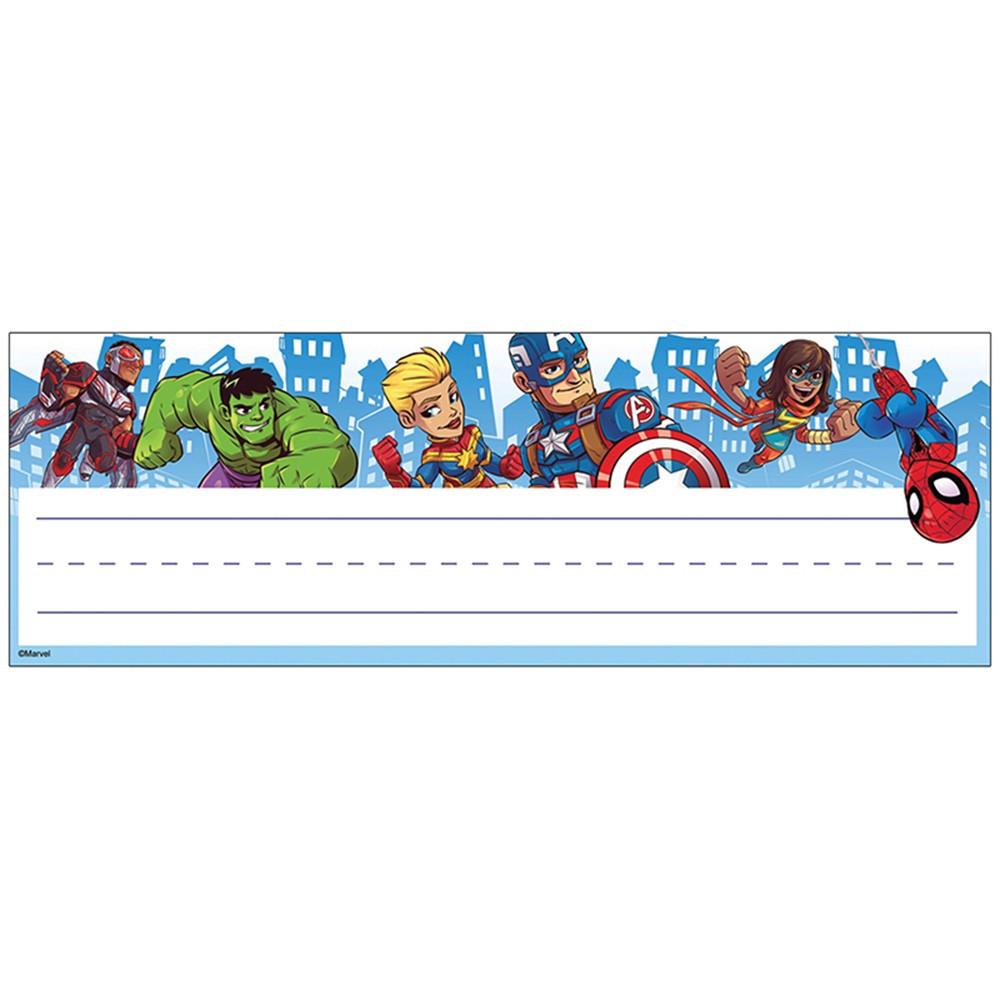 Marvel Super Hero Adventure Name Plates - Self Adhesive - EU-833071  Eureka  Name Plates