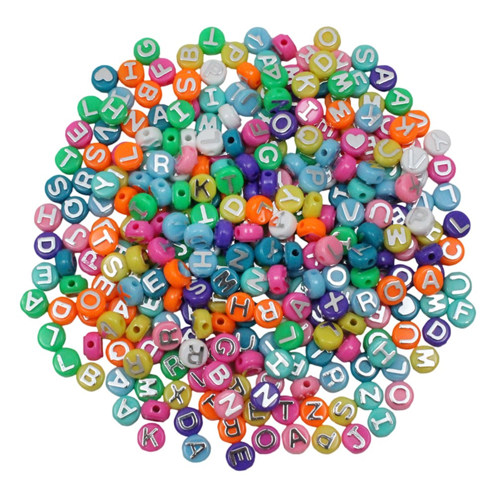 Abc beads 300pk for arts craft projects hyg69300 for Beads for craft projects