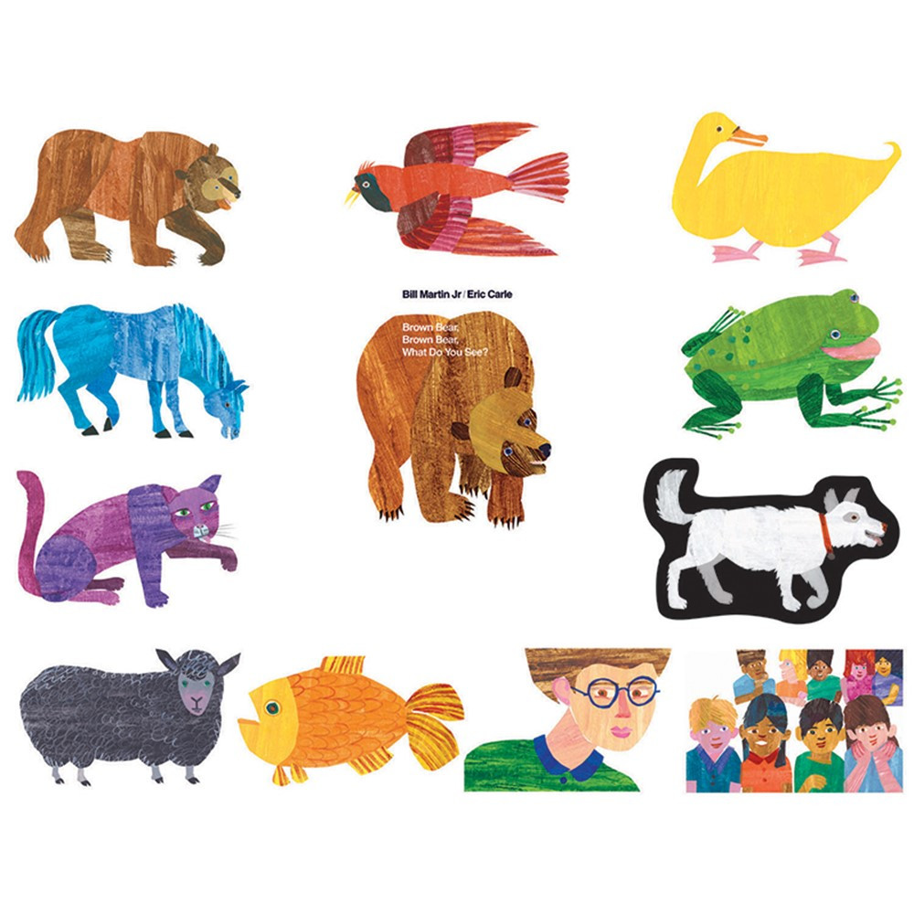 Eric Carle Brown Bear Brown Bear What Do You See ...
