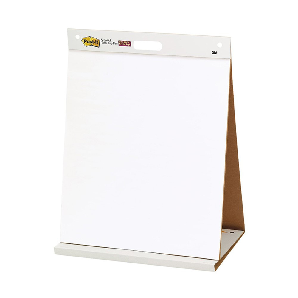 Post It Self Stick Tabletop Easel Pad Mmm563r 3m