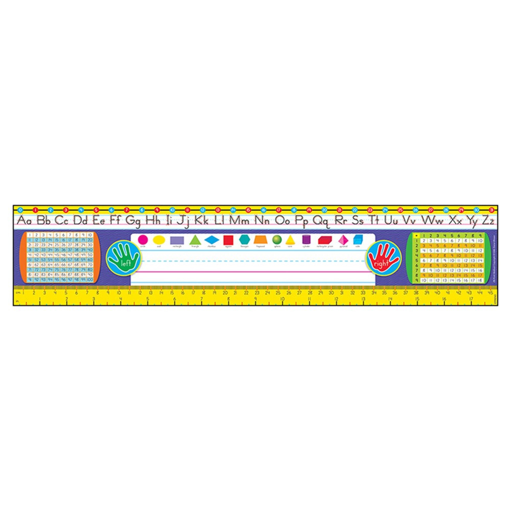 grades 23 zanerbloser desk toppers ref name plates t