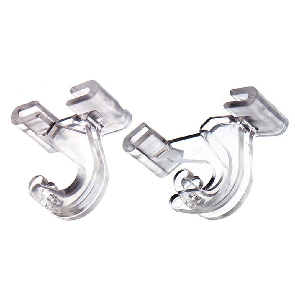ADM1900993848 - Clear Plastic Ceiling Hook in Clips