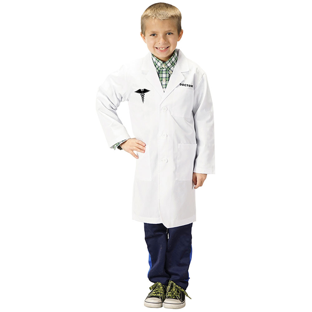 AEALDR46 - Dr. Lab Coat Size 4-6 in Role Play