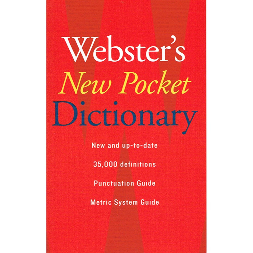 AH-9780618947263 - Websters New Pocket Dictionary in Reference Books