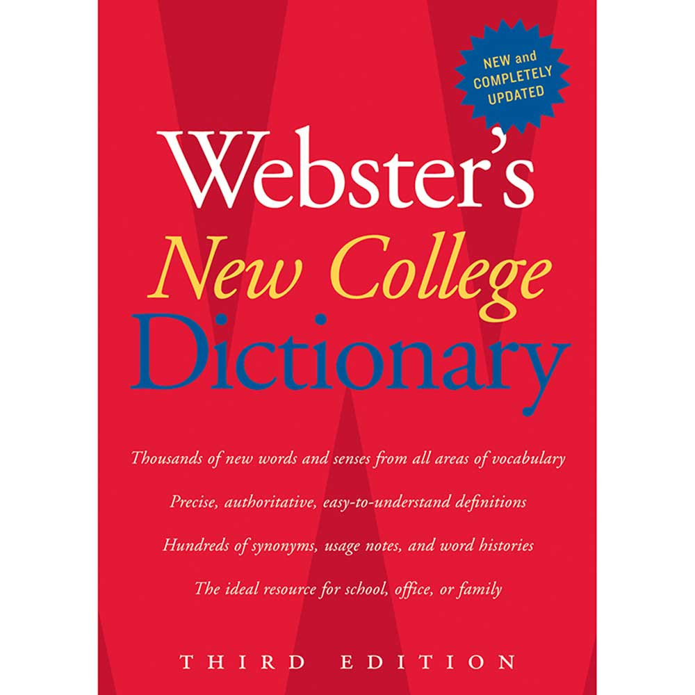 AH-9780618953158 - Websters New College Dictionary 3Rd Edition in Reference Books