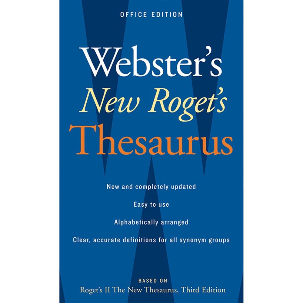 AH-9780618955923 - Websters New Rogets Thesaurus Office Edition in Reference Books