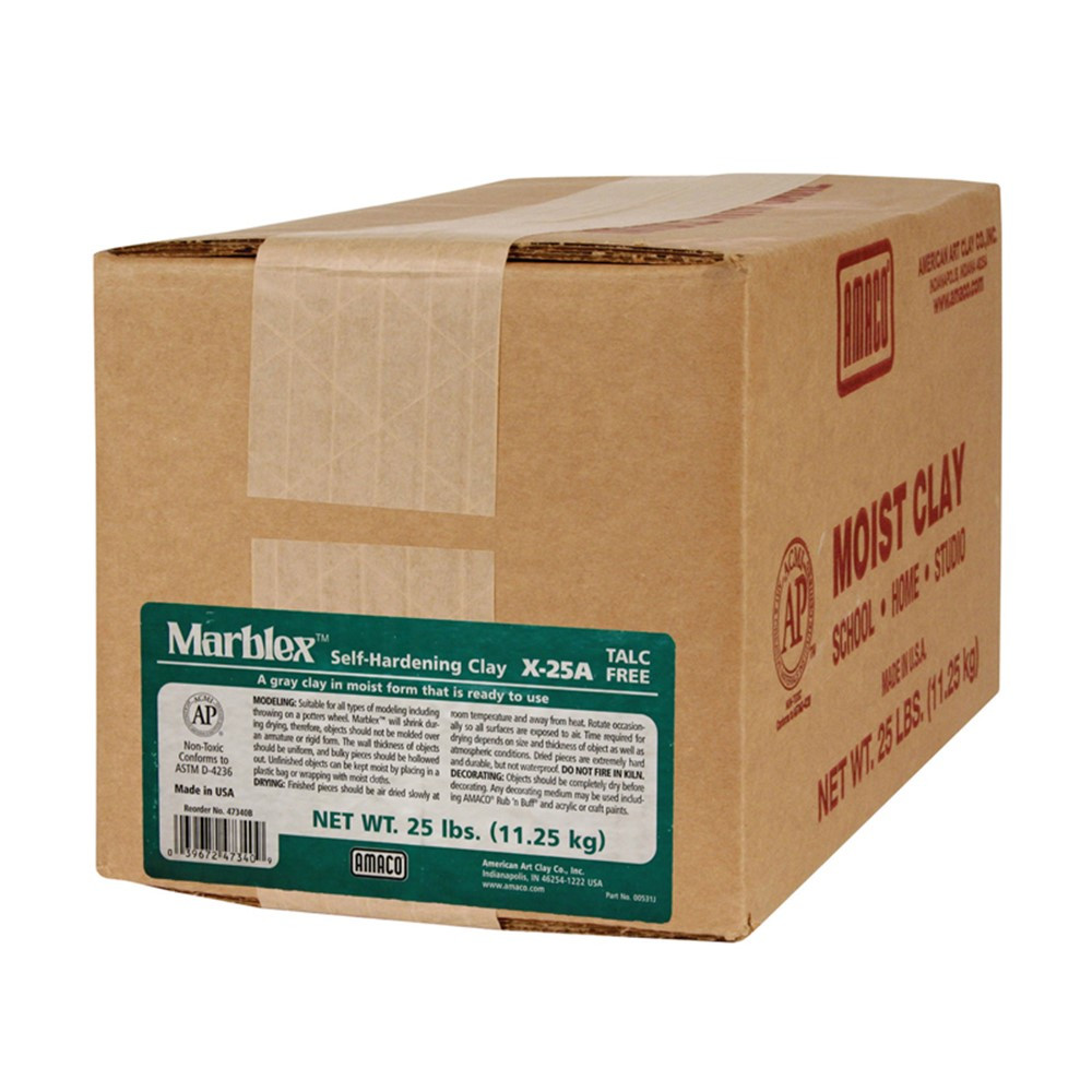 AMA47340B - Marblex 25 Lb. in Clay & Clay Tools