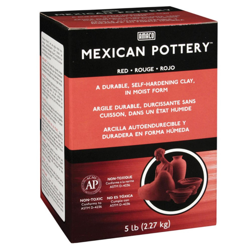 AMA48652C - Mexican Pottery Clay 5 Lb. in Clay & Clay Tools