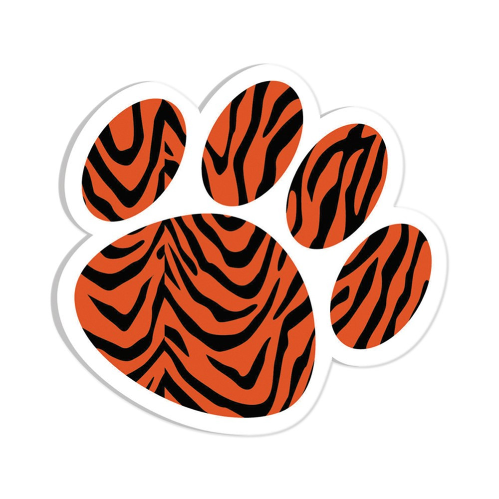 ASH10000 - Magnetic Whiteboard Eraser Tiger Paw in Whiteboard Accessories