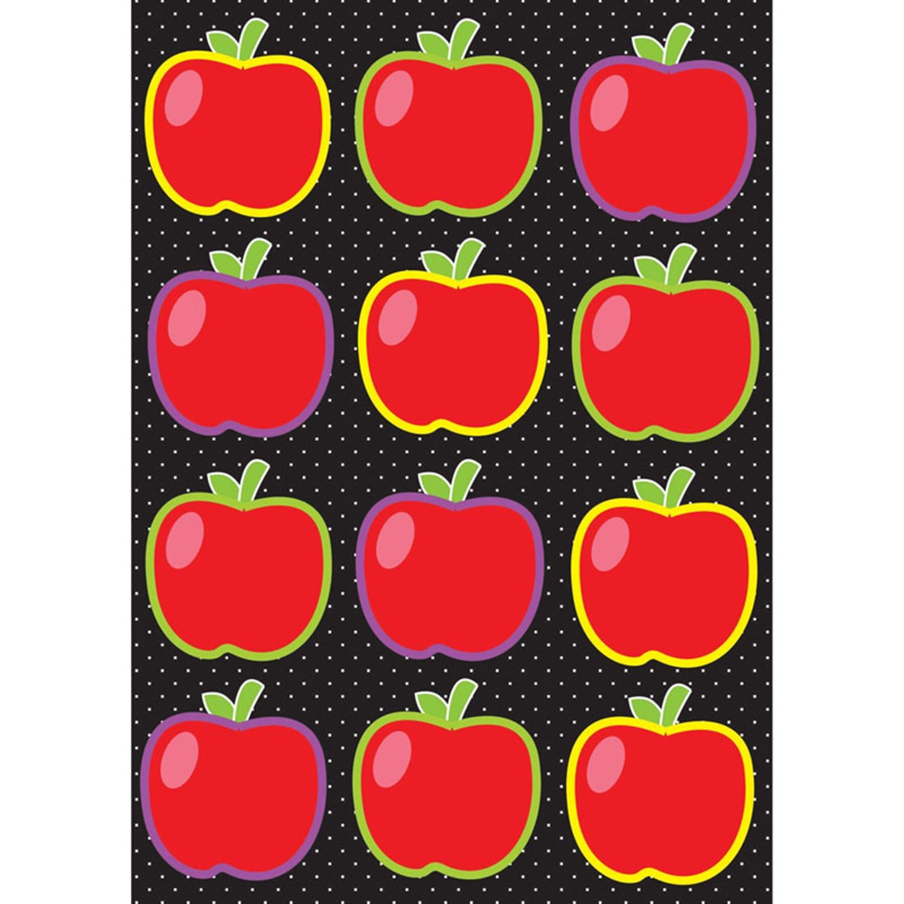 ASH10139 - Die Cut Magnets Apples in Accents