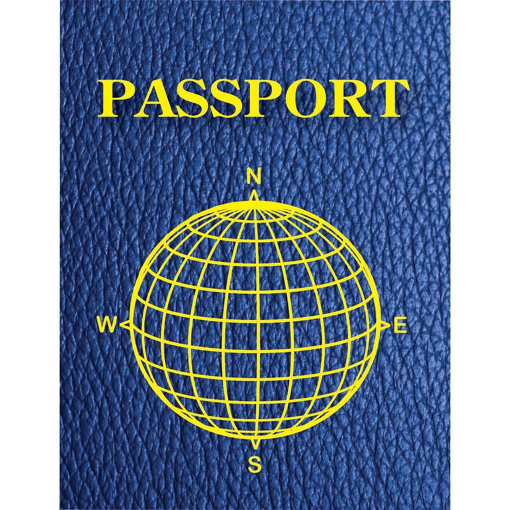 ASH10708 - Blank Passports Pack Of 12 in Writing Skills