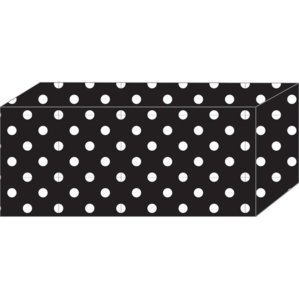 ASH17850 - 5Pk Block Magnet Black & White Dots Heavy Strength in Whiteboard Accessories