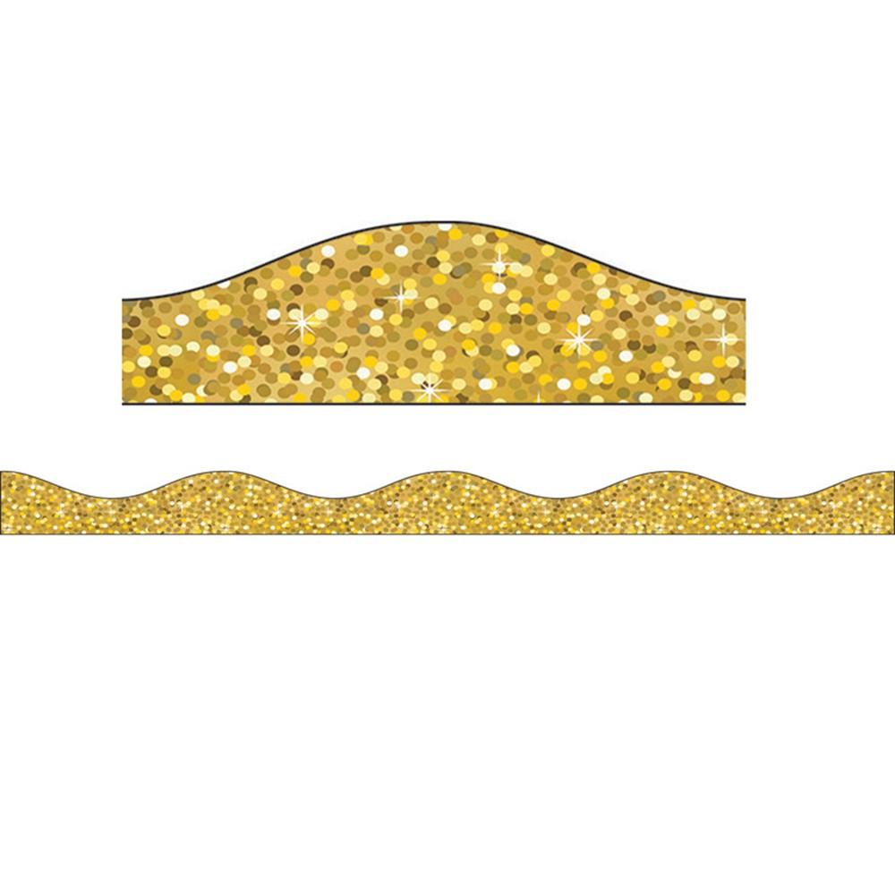 ASH30000 - Magnetic Border Gold Sparkle in Border/trimmer