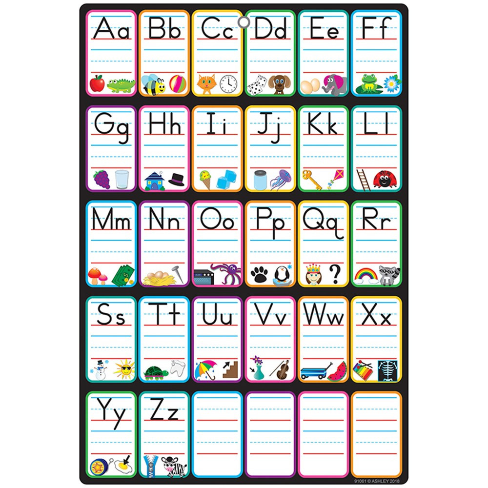 Smart Poly Chart 13 X 19 Abc Pictures W Grommet Ash91061 Ashley Productions Language Arts These charts accompany the abc party song from sing and play green. smart poly chart 13 x 19 abc pictures w grommet