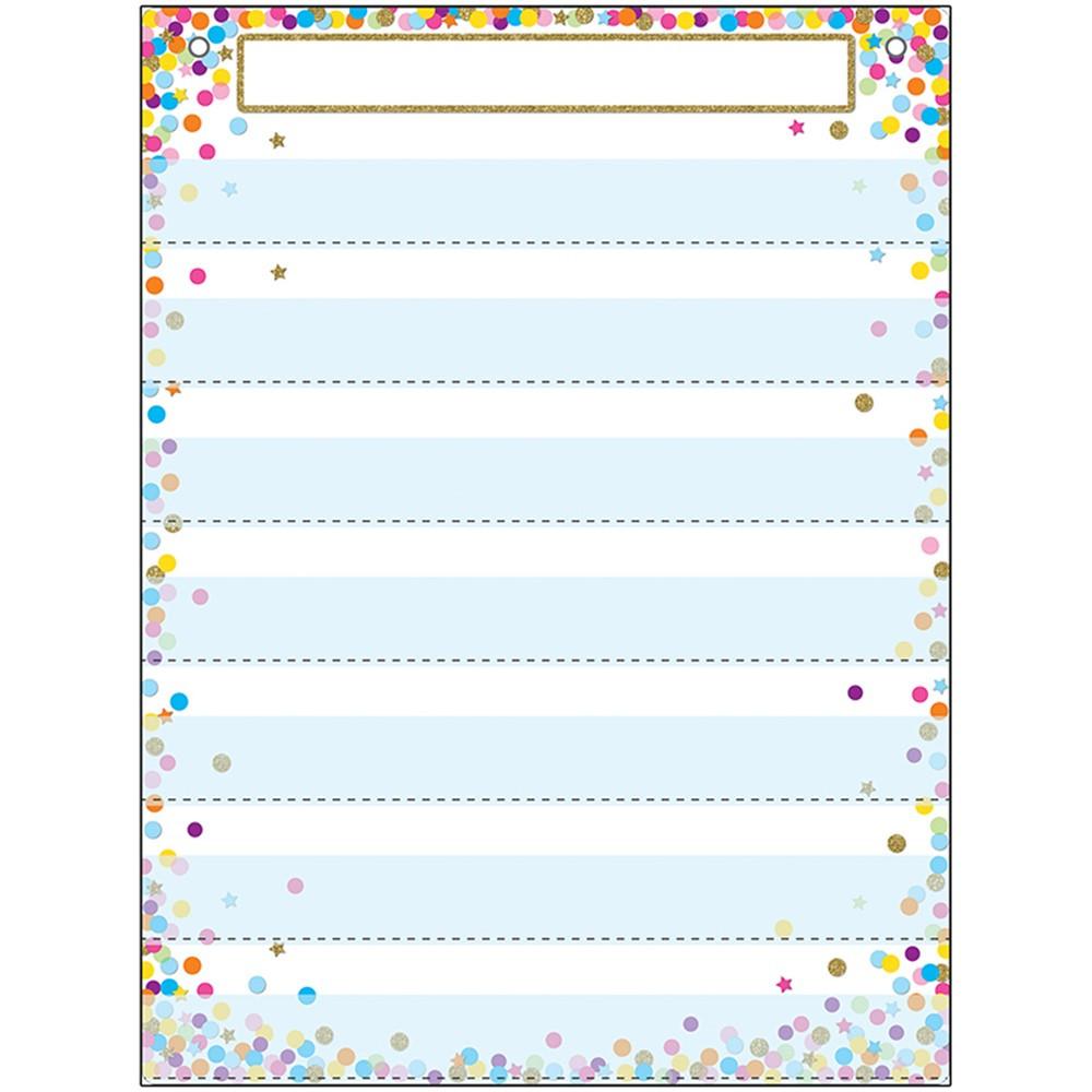 ASH94200 - Pocket Chart 7 Pockets Confetti in Pocket Charts