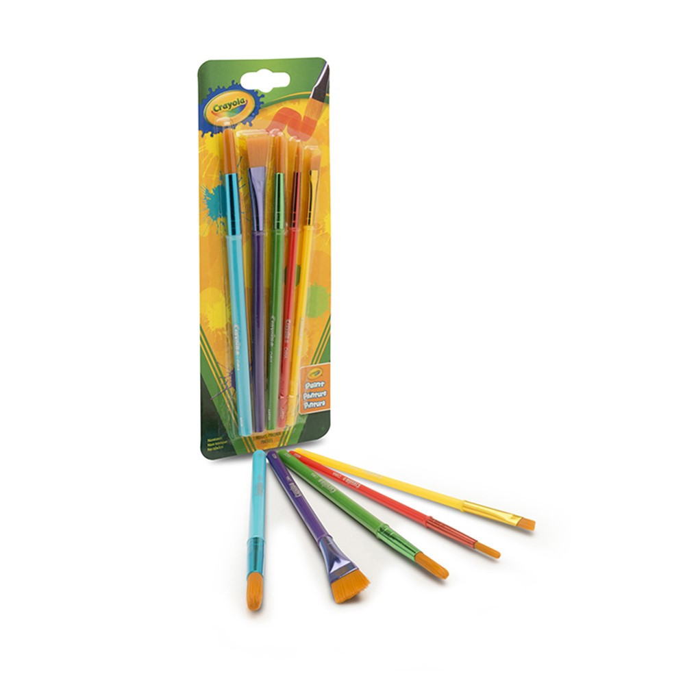 BIN053506 - Brush Assortment Set Of 5 in Paint Brushes
