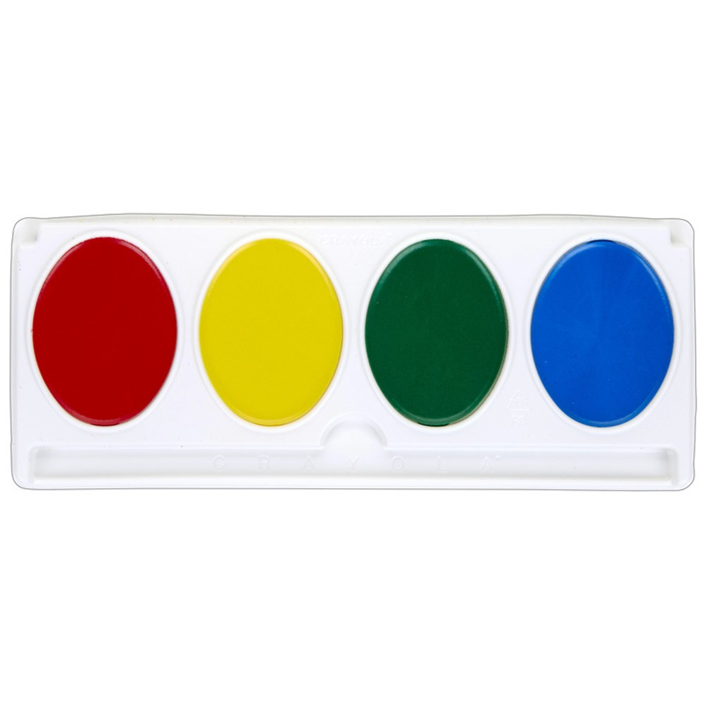 BIN1500 - Jumbo Watercolor Refill 4 Colors in Paint