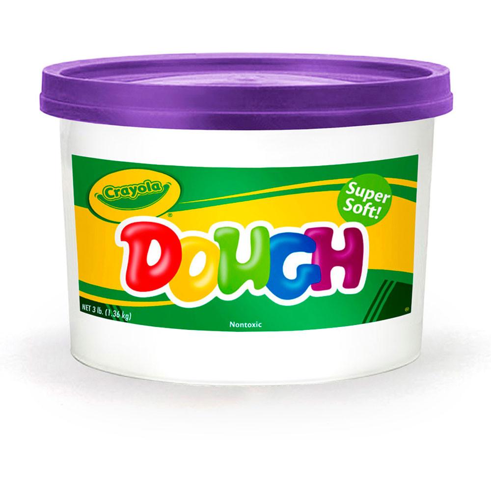 BIN1540 - Modeling Dough 3Lb Bucket Purple in Dough & Dough Tools