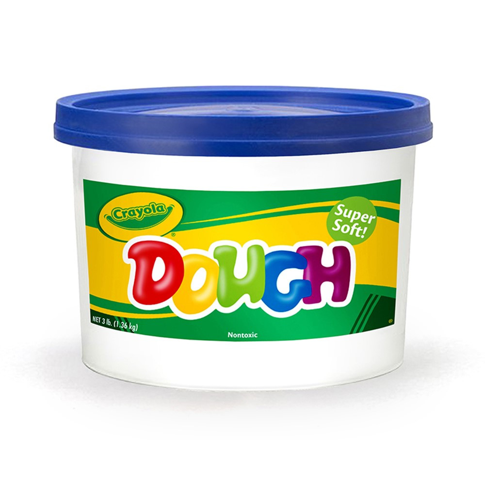 BIN1542 - Modeling Dough 3Lb Bucket Blue in Dough & Dough Tools