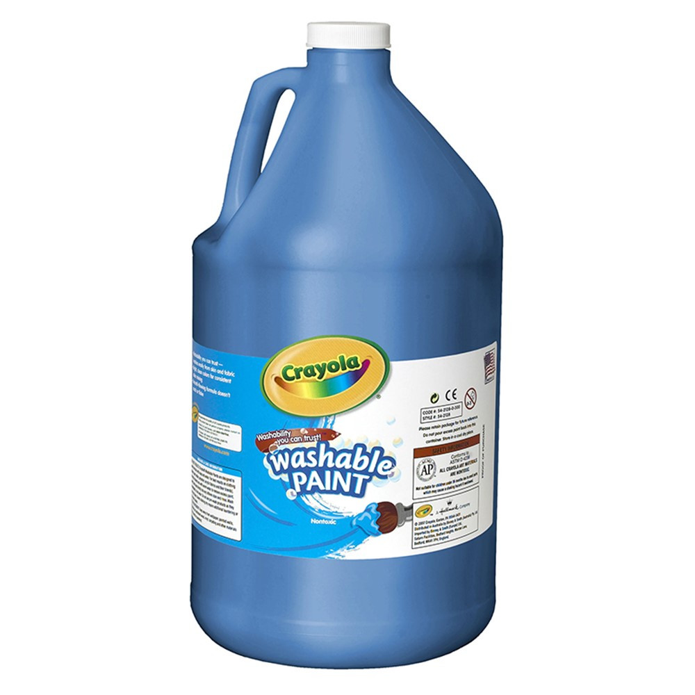 BIN212842 - Washable Paint Gallon Blue in Paint